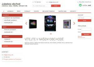 e-shop s náhradními díly pro jukeboxy