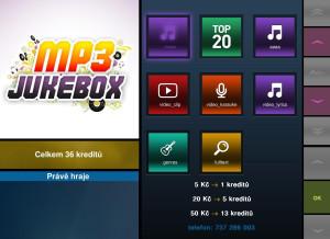 ovládání MP3 jukeboxu